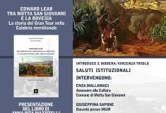 PRESENTAZIONE DEL LIBRO: EDWARD LEAR TRA MOTTA SAN GIOVANNI E LA BOVESIA